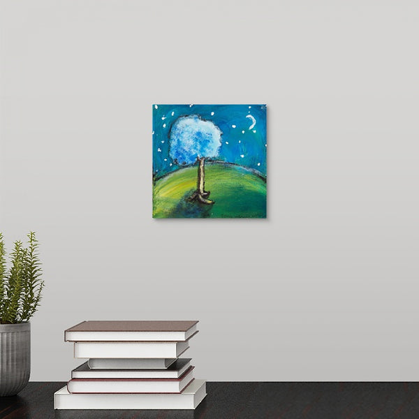 """Moon Tree"" Mini Print by Doug Hollingsworth"