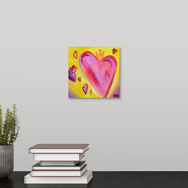 """My Valentine"" Mini Print by Natalie Hopkins"