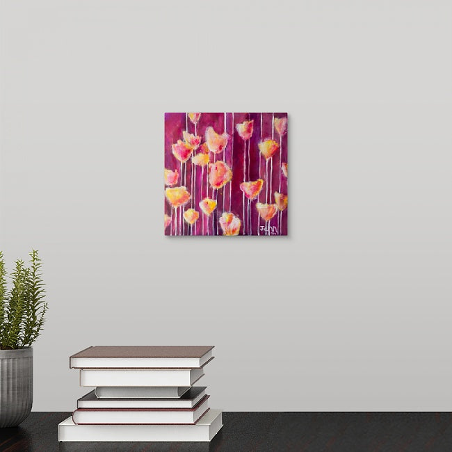 """Patsy's Tulips"" Mini Print by Jennifer Walton"