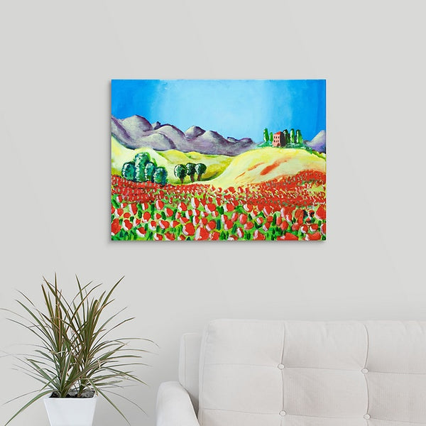 """Rosy Valley"" Original Painting by Brock Schul"