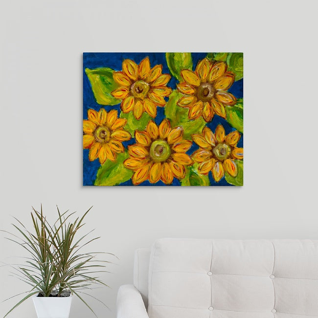 """Sunflowers"" Print by Stephanie Drews"