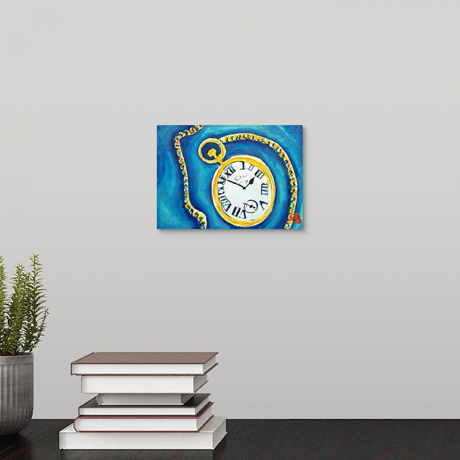 """Track Meet Stop Watch"" Mini Print by Stan Balman"