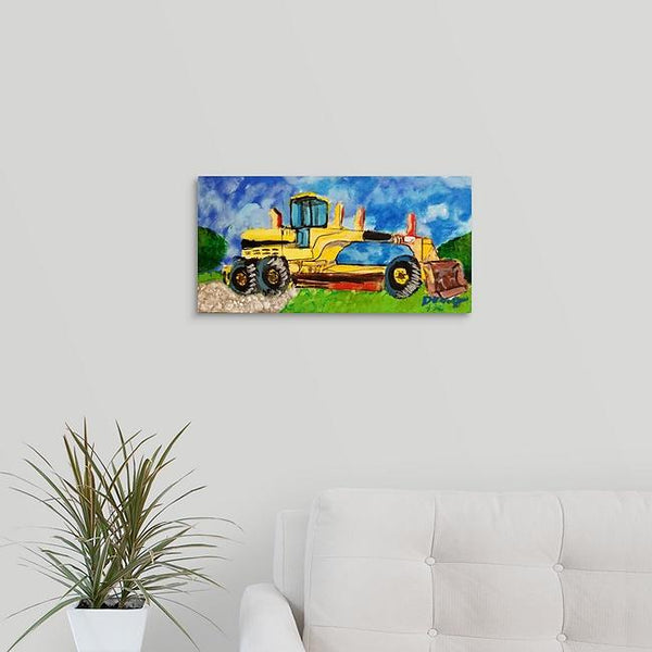 """Tractor on the Farm"" Original Painting by Doug Hollingsworth"