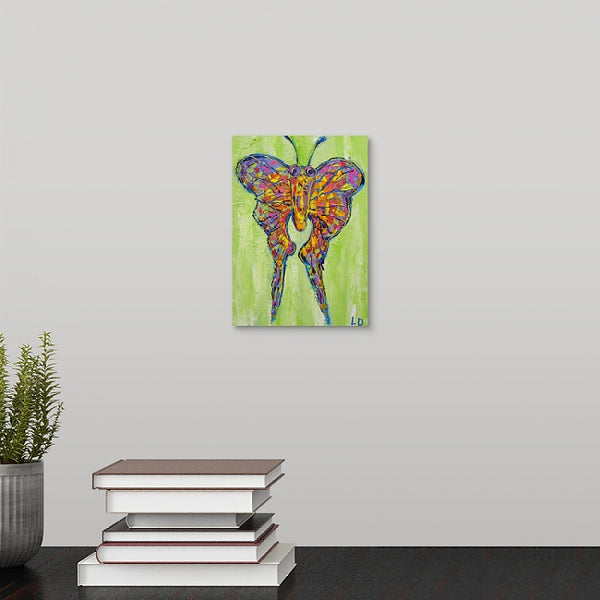 """Wild Butterfly"" Mini Print by Lisa DeVault"