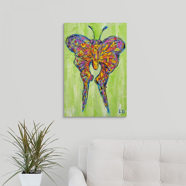 """Wild Butterfly"" Print by Lisa DeVault"