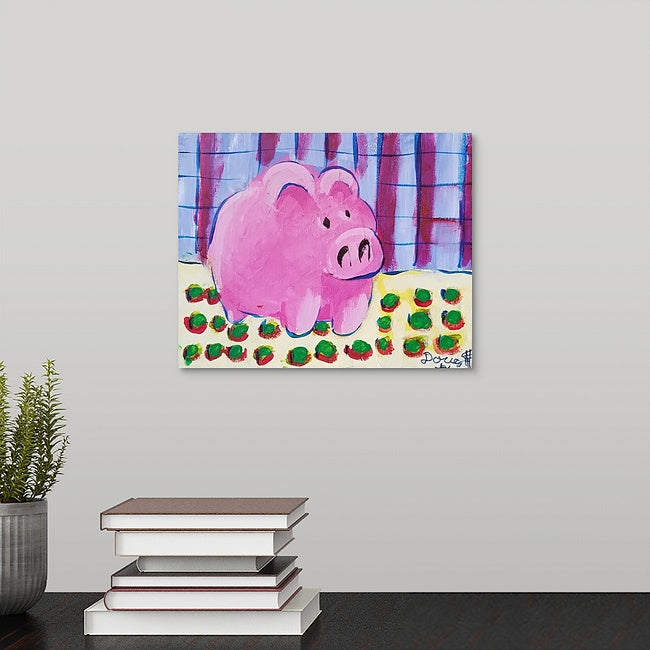 """Doug's Piggy Bank"" Original Painting by Doug Hollingsworth"