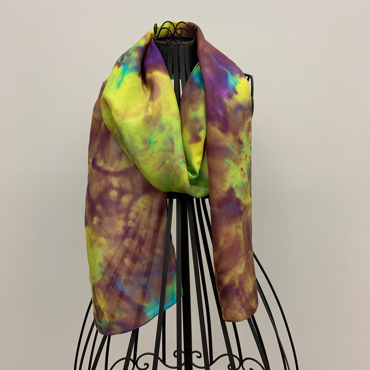 """Cosmos"" Silk Scarf by Michelle Day"