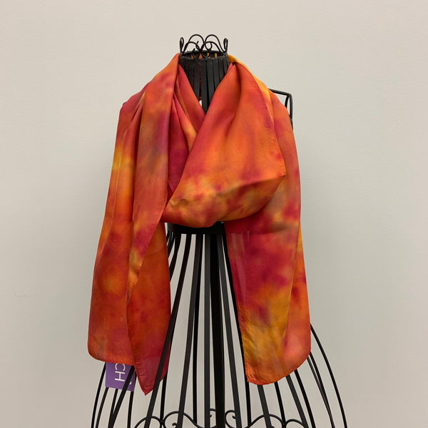 """Dressing Up"" Silk Scarf by Pam Carey"