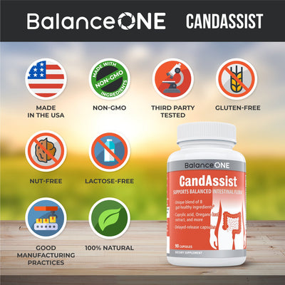 Balance ONE CandAssist - 3 Bottles