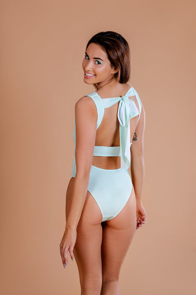 Swimsuit / One piece / Light Green