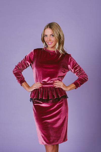 Dress with Removable Belt