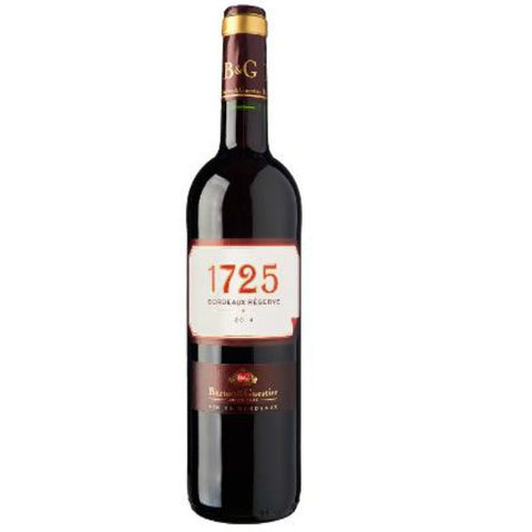 B&G 1725 Bordeaux Reserve Rouge - 750ml - 14.0%