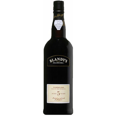 Blandys Madeira Verdelho '5 Years Old' (medium Dry) - 750ml - 0.0%