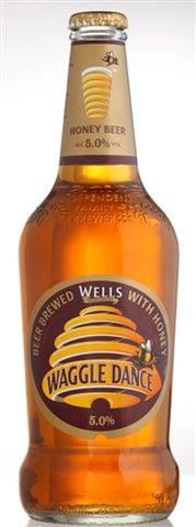Wells Waggle Dance Honey - 500ml - 5% - Golden Ale-Blond Ale