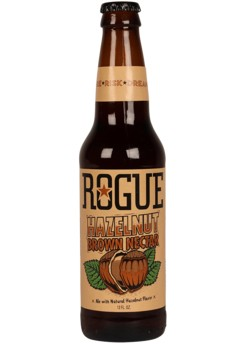 Beer: Rogue Hazelnut Brown Nectar - 355ml - 6.2% by wishbeer1