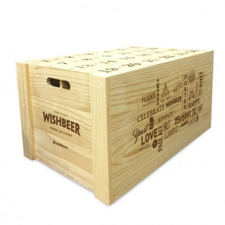 Wishbox (Wooden Box No Beer Included)