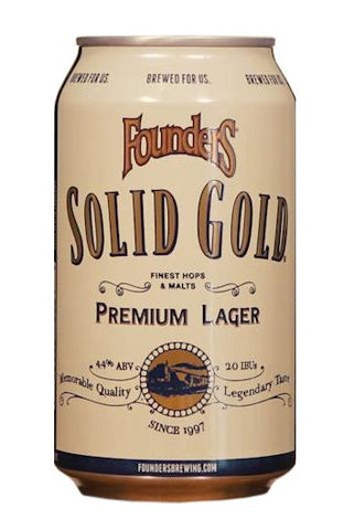 Founders Solid Gold (can) - 355ml - 4.4%