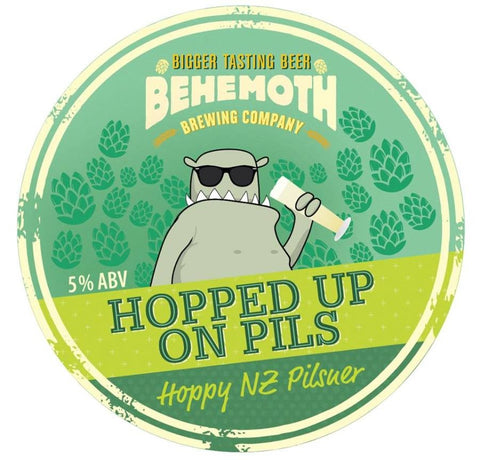 Behemoth Hopped up on Pils - 330ml - 5.0%