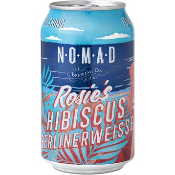 Nomad Rosie's Hibiscus (CAN) - 355ml - 3.8%