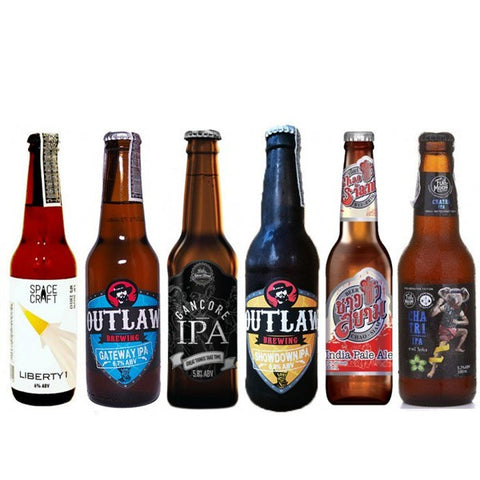 IPA Thai Craft Beers Selection - 6 bottles
