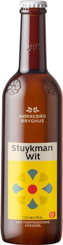 Norrebro Bryghus Stuykman Wit - 400 ml - 5% - White Beer (Wit)