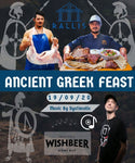 Ancient Greek Feast Event - Saturday 19th Sept