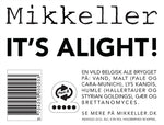 Mikkeller It's Alight - 330 ml - 4.5% - Belgian Ale