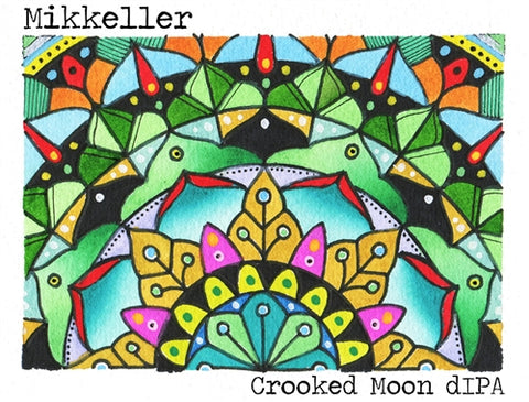 Mikkeller Crooked Moon dIPA - 330 ml - 9% - Imperial IPA (India Pale Ale)