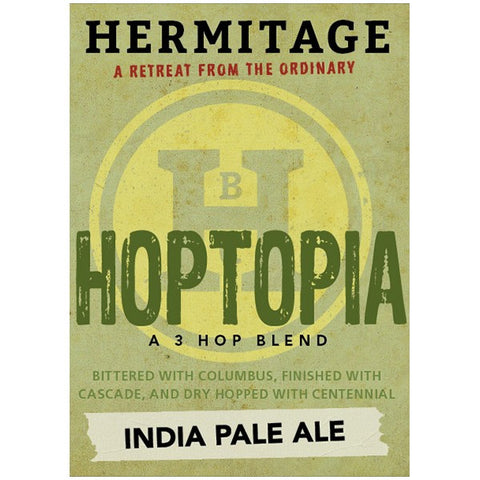 Hermitage Hoptopia Ipa - 350ml. - 8.0%