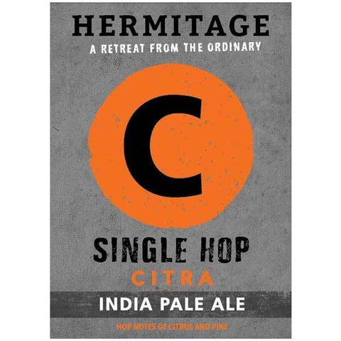 Hermitage Citra Single Hop Ipa - 650ml. - 7.0%
