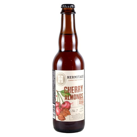 Hermitage Cherry Almonds American Sour Series - 375ml. - 6.5%