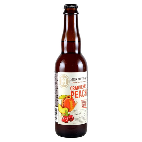 Hermitage Cranberry Peach Sour - 375ml. - 6.5%