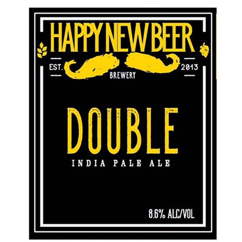 Hermitage Happy New Beer Double Ipa (Can) - 437ml. - 8.0%