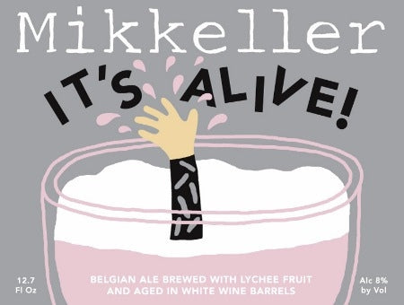 Mikkeller It's Alive Mango - 375 ml - 8% - Anglo-American  Wild Ale