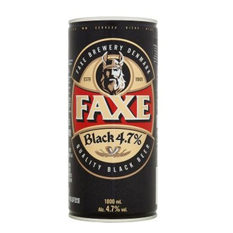 Faxe Black Beer - 1L - 4.7%
