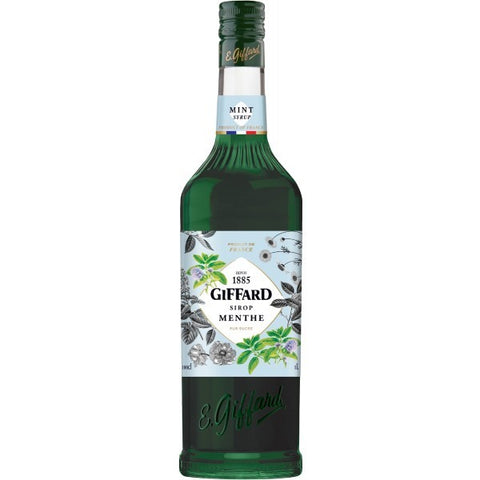 Giffard Syrup Mint Non Alcohol - 1000ml - 0.0%