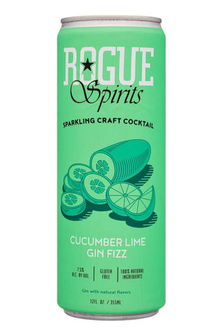 Rogue Spirits Cucumber Lime Gin Fizz - 355ml - 7.5%