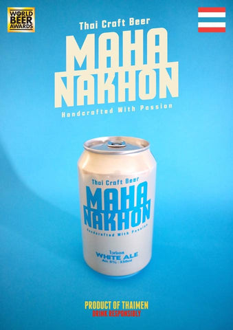 Mahanakhon White Ale Can - 330ml - 5.2%