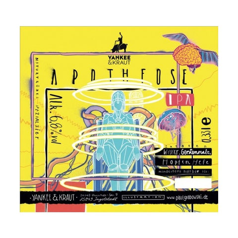 Yankee & Kraut  Apotheose - 330ml - 6.8%
