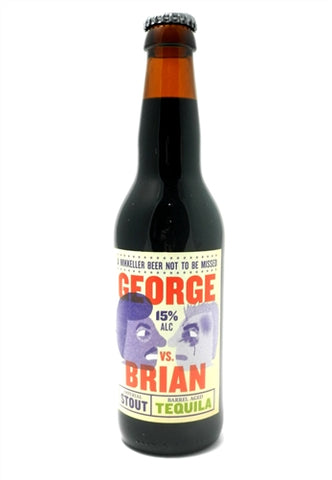 Mikkeller George! vs Brian BA Tequila - 330 ml - 15% - Russian Imperial Stout