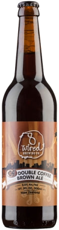 8 Wired C4 Double Coffee - 500 ml - 8% - Brown Ale
