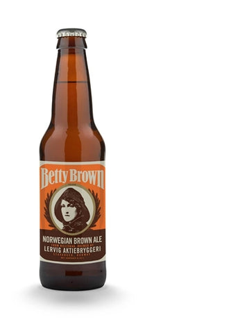Lervig Betty Brown - 330 ml - 4.7% - Brown Ale