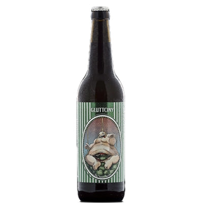 Amager Bryghus Gluttony (The Sinner Series) - 500 ml - 9.4% - Imperial IPA (India Pale Ale)