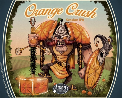 Amager / Cigar City Orange Crush - 500 ml - 5% - India Pale Ale (IPA)