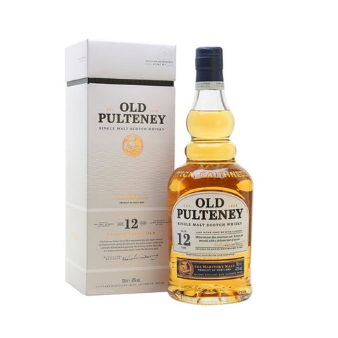 Old Pulteney Single Malt Scotch Whisky 12 Y.O. - 700ml - 40%