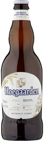 Pre Order Hoegaarden (Big Bottle) - 650ml - 4.9%