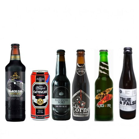 Brown & Dark Beers Selection - 6 bottles