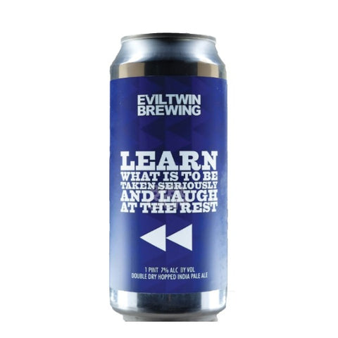 Evil Twin Learn What Is to Be Taken Seriously and Laugh at the Rest - 473ml (Can) - 7.0%