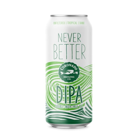 Coronado Never Better DIPA (Can) - 473ml - 8.1%