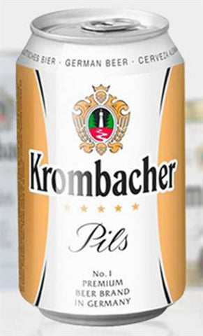 Krombacher Pils Can - 330 ml - 4.8% - Pilsener